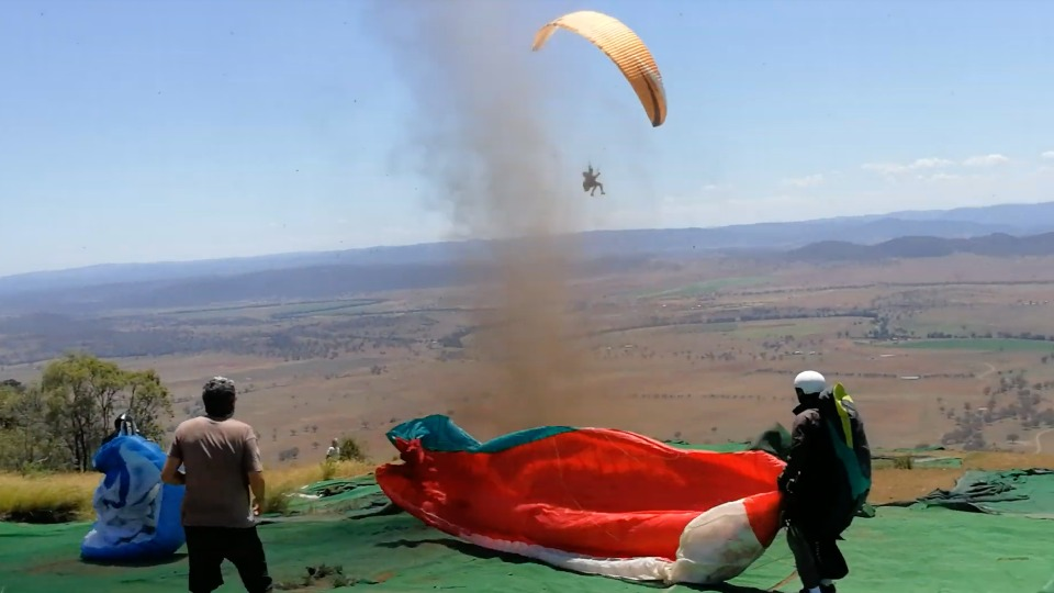 Dust Devil Takes New South Wales Paraglider for a Terrifying Ride |  WeatherBug