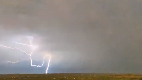 27cae38b41 Spectacular Lighting Strikes Seen During Texas Storms
